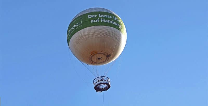 Hamburger Abendblatt Ballon