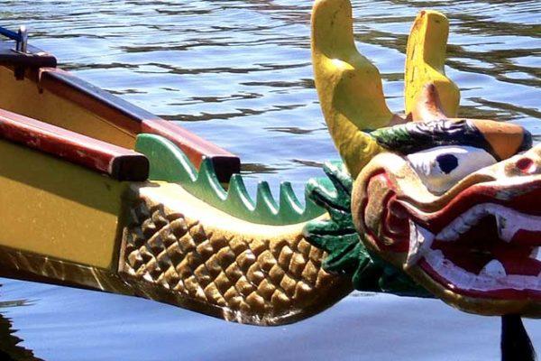 Drachenbootrennen in Hamburg
