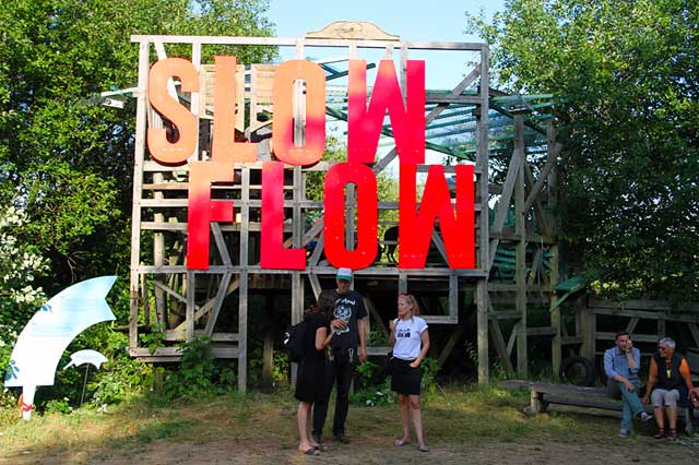 Slow Flow Grow- Dockville Kunstcamp 2013