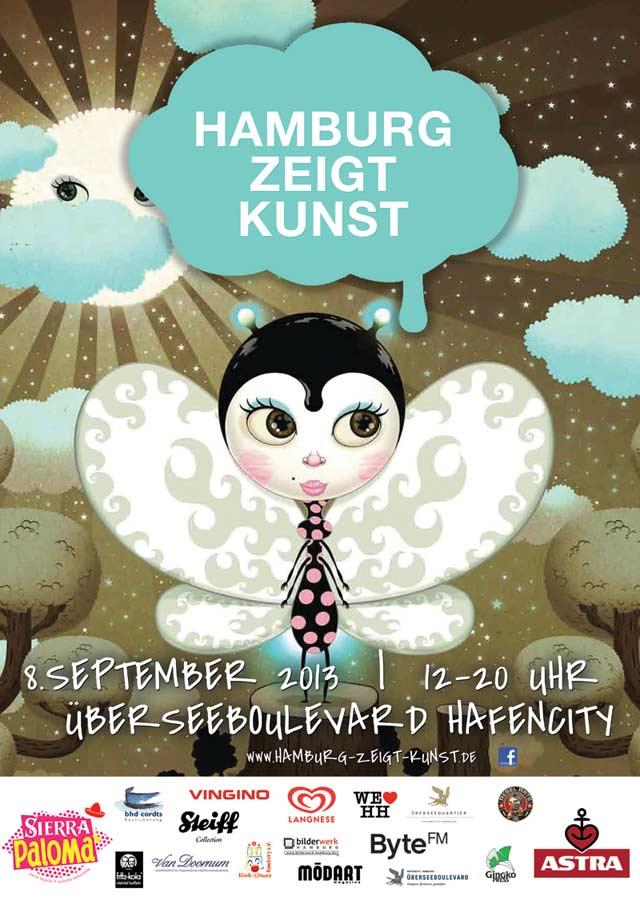 Hamburg zeigt Kunst - Überseequartier Hafencity 2013