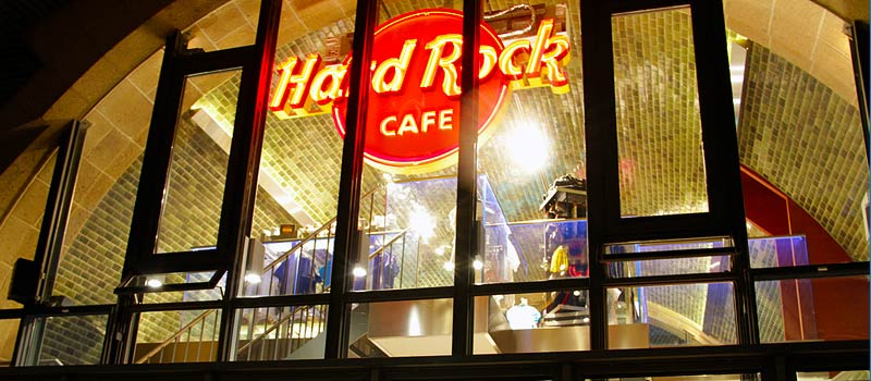 Rock the Square im Hard Rock Cafe am Hamburger Hafen