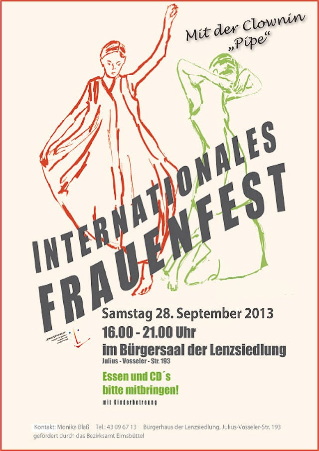 Internationales Frauenfest in Hamburg-Eimsbüttel