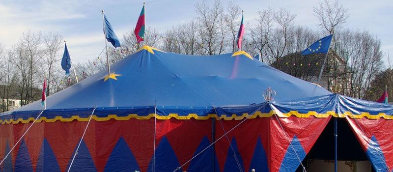 Circus Werona in Hamburg-Othmarschen