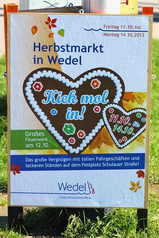 Herbstmarkt Wedel 2013