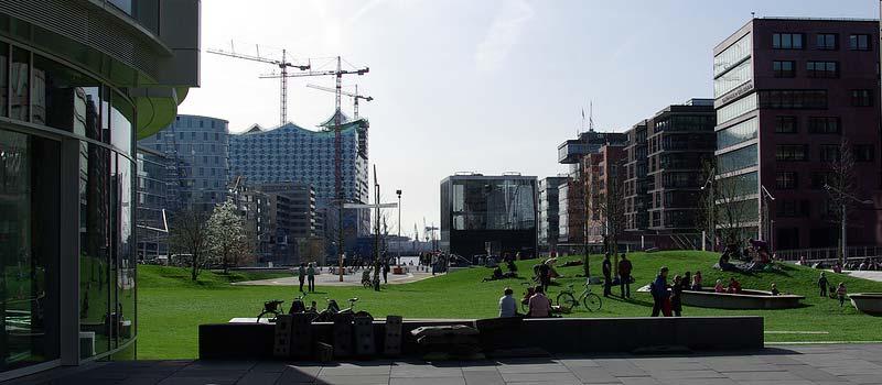 Sandtorpark – Erster Park in der HafenCity