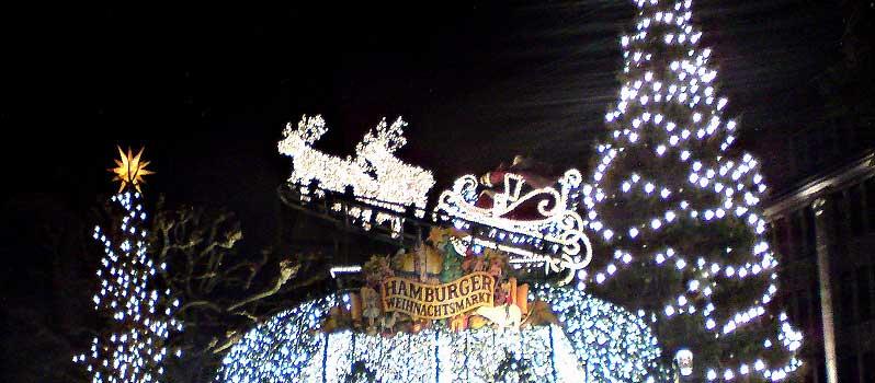 Hamburgs Weihnachtsmärkte 2013