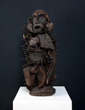 Nkisi-Ritualfigur aus dem Kongo
