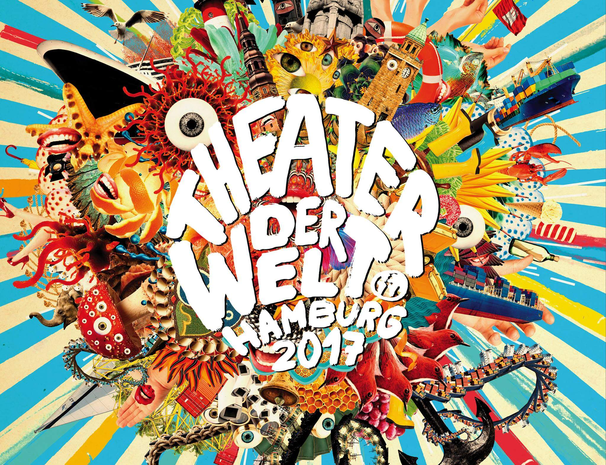 Theater der Welt Festival in Hamburg vom 25. Mai bis zum 11. Juni 2017