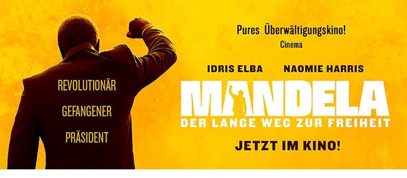 Kino: Mandela – Der lange Weg zur Freiheit