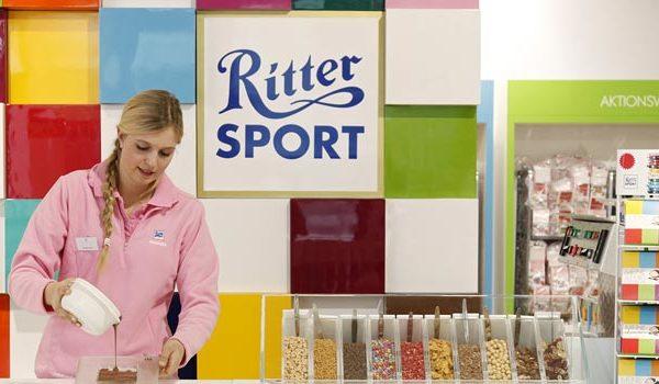 Ritter Sport Schokoladenladen