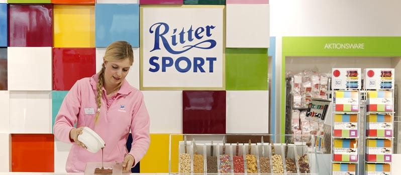 Was ist eigentlich dieser erste Ritter Sport Pop-up-SchokoLaden in Hamburg?