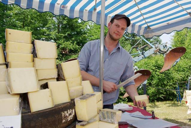 Käsemarkt am Kiekeberg 1. Juni 2014