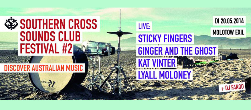Molotow Exil: Southern Cross Sounds Club Festival #2 – Discover Australian Music