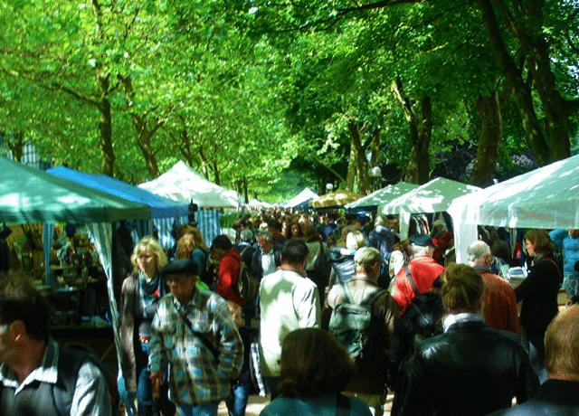 altonale Flohmarkt in Altona