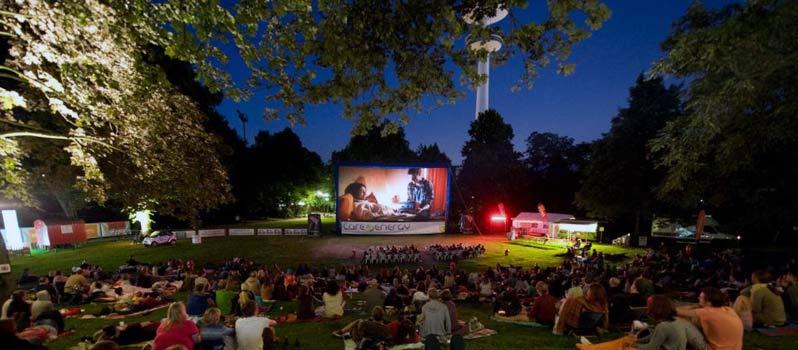 Kino unterm Sternenhimmel – das Open-Air-Schanzenkino im Sternschanzenpark