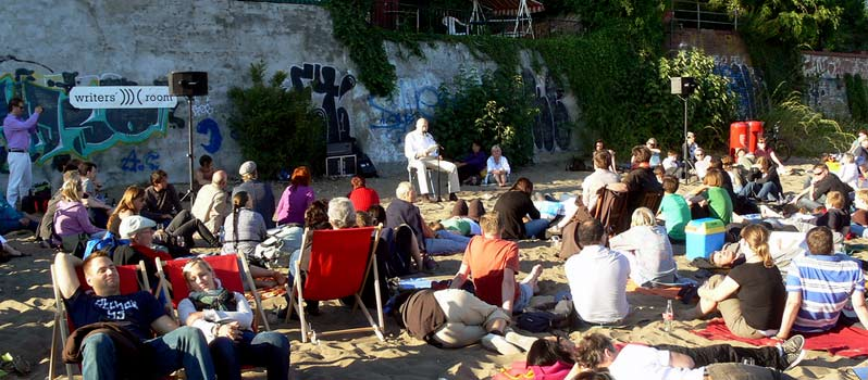 Poets on the beach – Sonntag an der Strandperle