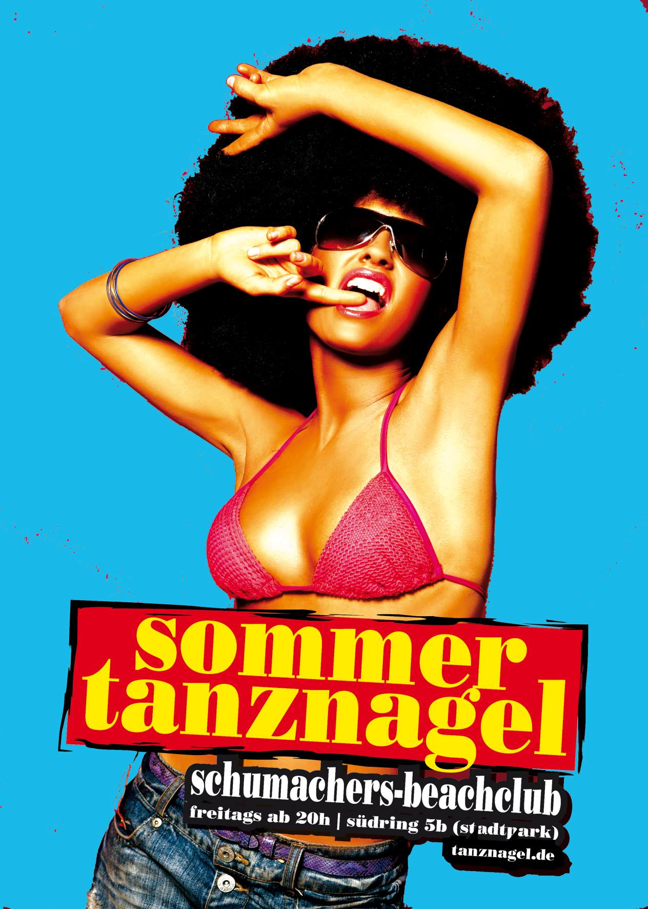 Party in Hamburg: Schumachers Beachclub