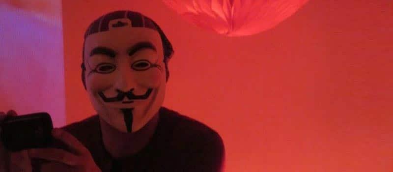 Anonymus liest in Hamburg 'Deep Web – Die Dunkle Seite des Internets'