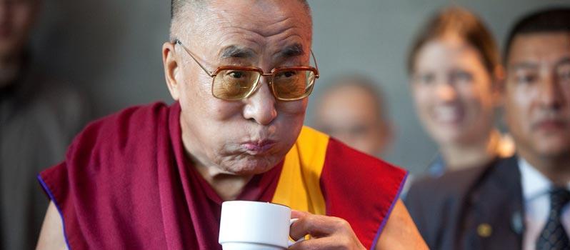 Seine Heiligkeit der 14. Dalai Lama in Hamburg
