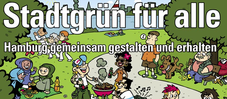 Veranstaltung: Stadtgrün für alle – Hamburg gemeinsam gestalten und erhalten