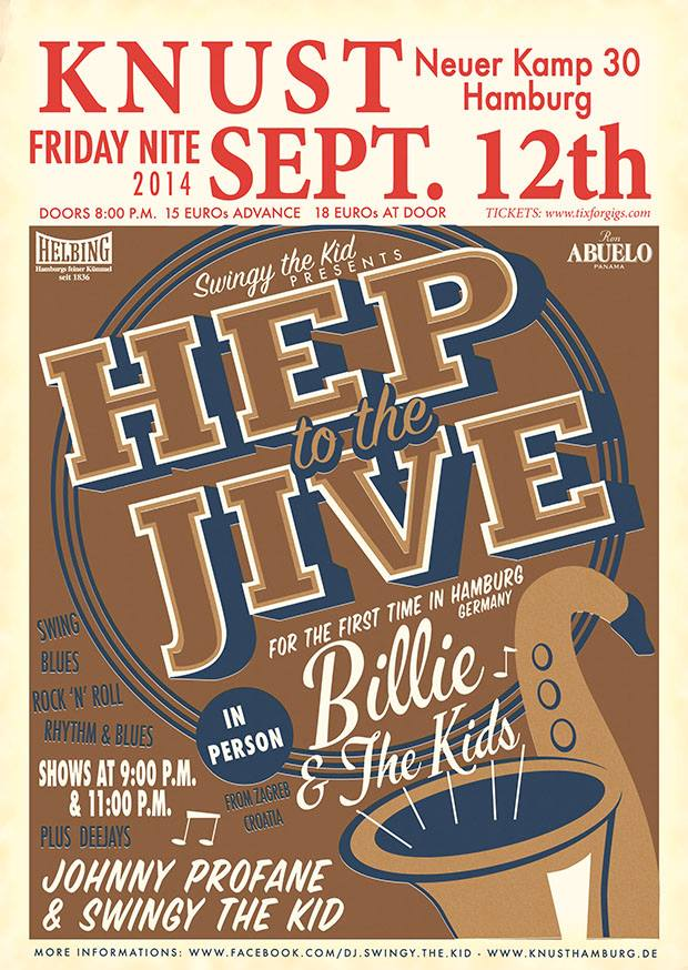 "Hep to the Jive"" with Jump Blues Syndicate"