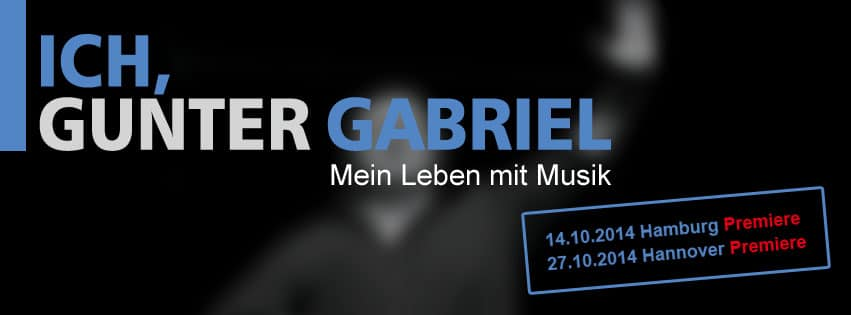 Gunter Gabriel im Altonaer-Theater