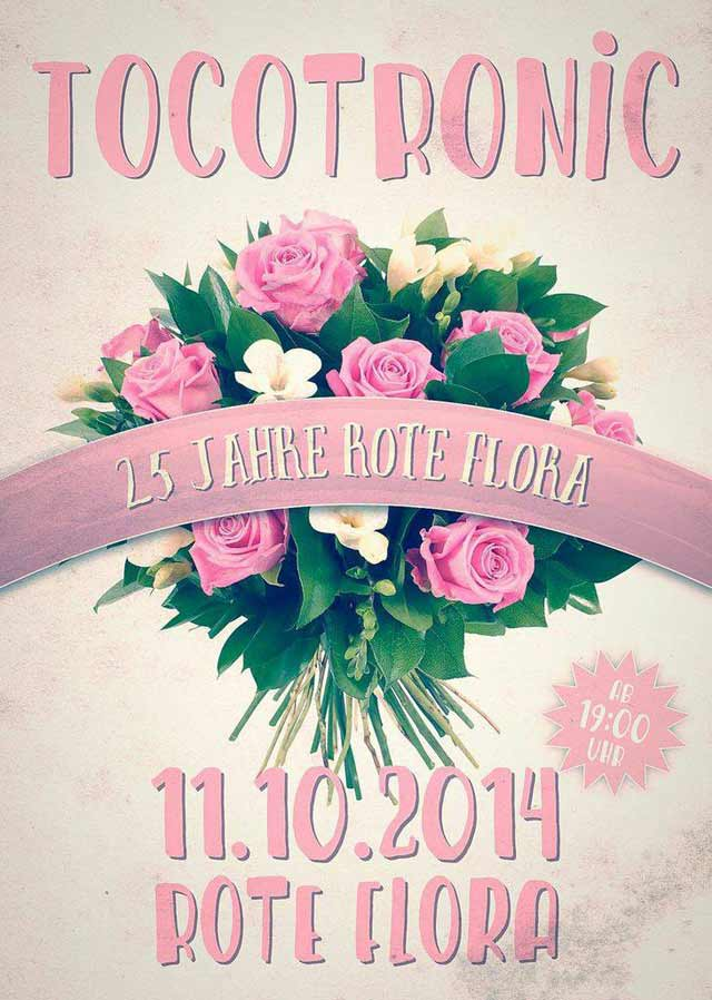 Tocotronic in der Roten Flora