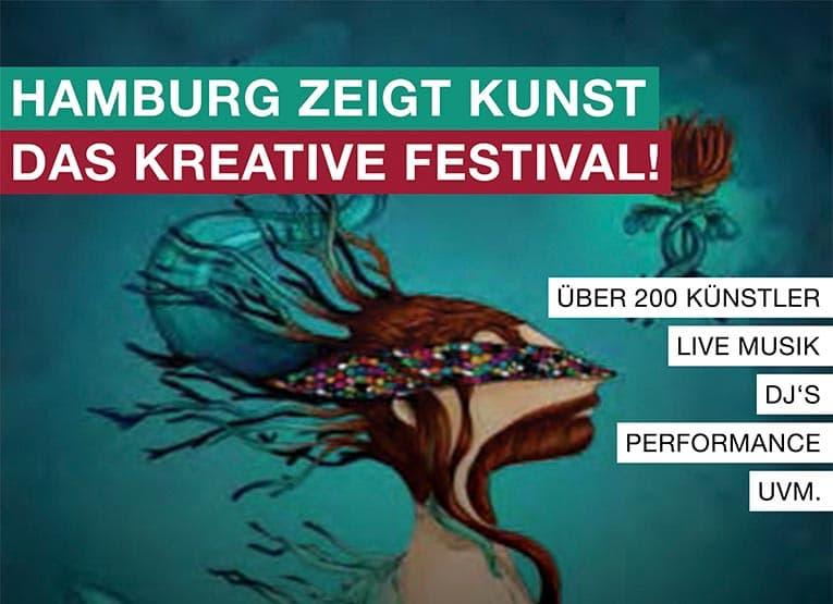 Hamburg zeigt Kunst zum Frühlingsanfang in der Fischauktionshalle
