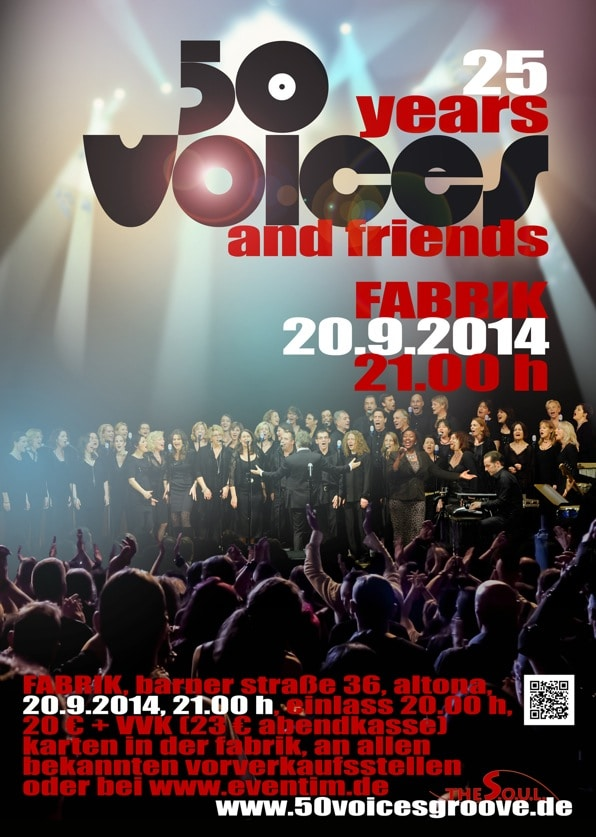 50 Voices Plakat