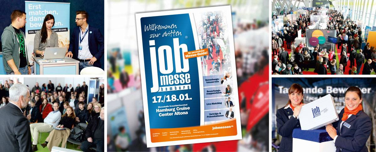 Jobmesse Hamburg im Crusise Center Altona