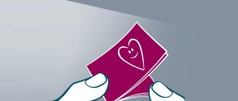 Valentinstags-Aktion in der Gänsemarkt PASSAGE