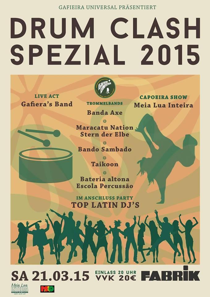Gafieira Universal - Drum Clash Spezial 2015 Hamburg