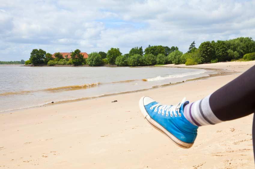 Ballerinas, Sneakers, Sommerschuhe