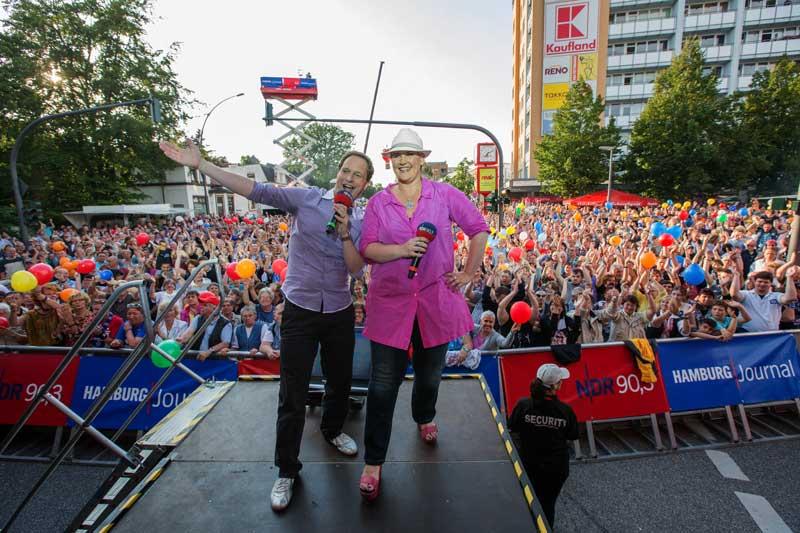 Lurup rockt! 14.000 Besucher bei der NDR 90,3 und Hamburg Journal Sommertour