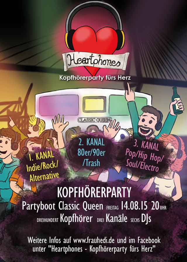 Heartphones Party in Hamburg