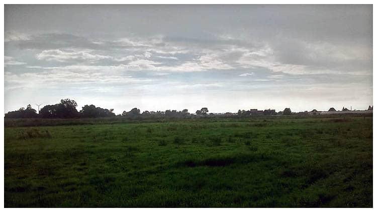 Hamburger Naturschutzgebiet 'Die Reit' mit Smartphone-Kamera