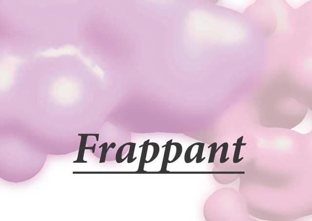 100% Frappant – Installation, Malerei, Zeichnung