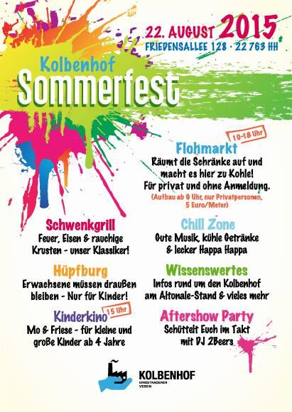 Hamburg : Kolbenhof Sommerfest 2015