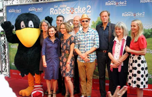 Premiere und Filmstart im August: Rabe Socke 2 mit Jan Delay und Gerd Delling
