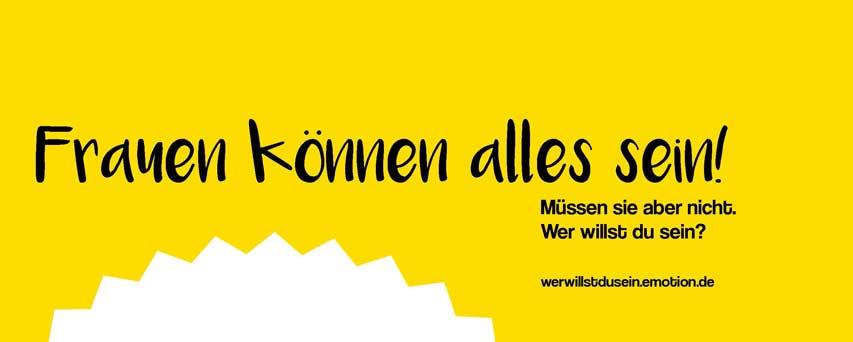 EMOTION-Magazin startet Aktion 'Wer willst du sein?' in Hamburg