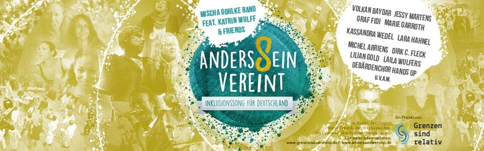 2. AndersSein vereint Festival am 21. Januar im Knust
