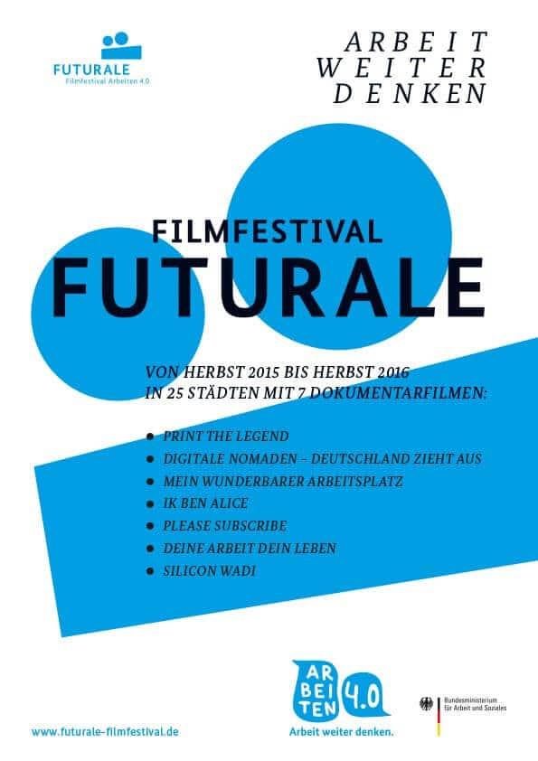 Futurale Filmfestival in Hamburg Arbeiten 4.0 – die Zukunft der Arbeit