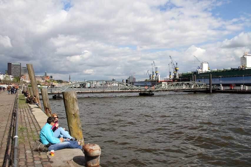 Spaziergang über den Altonaer Fischmarkt zum Internationalen Frauentag