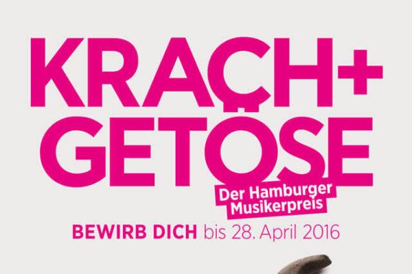 Krach + Getöse Plakat 2016