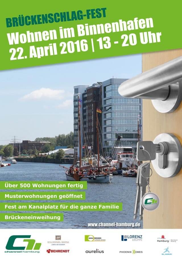 Brückenschlagfest: Wohnen im Binnenhafen