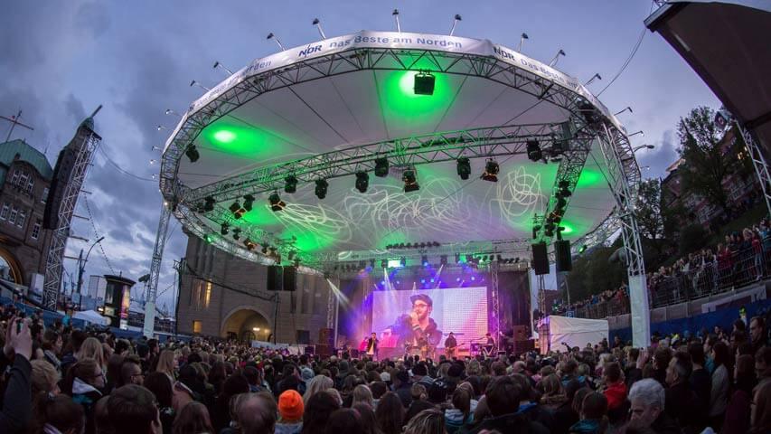 Hafengeburtstag Hamburg – Vier Tage Programm beim NDR an den Landungsbrücken