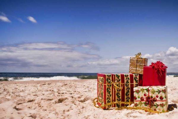 Geschenke am Ostsee-Strand