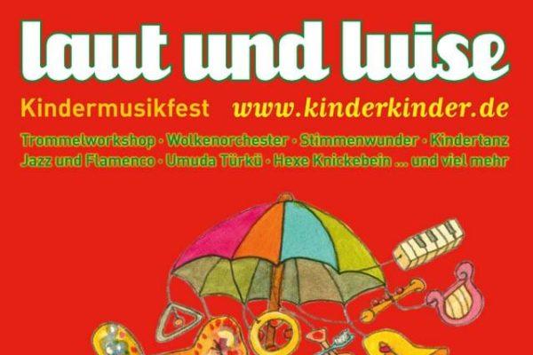 laut & luise Kindermusikfest in Planten un Blomen Plakat