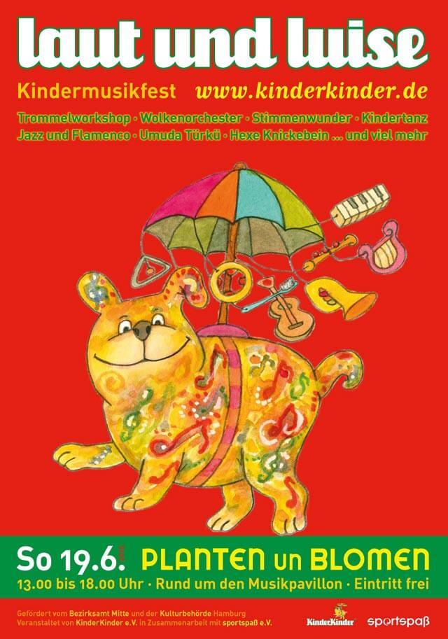 »laut & luise« Kindermusikfest in Planten un Blomen