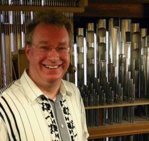 Organist Peter King